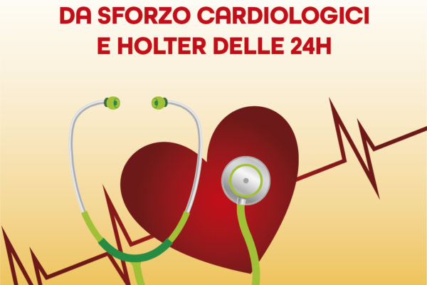 Test da sforzo cardiologici e holter delle 24H