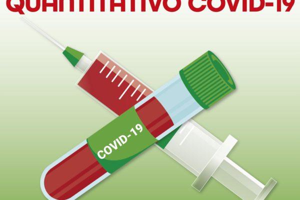 TEST SIEROLOGICO QUANTITATIVO COVID-19