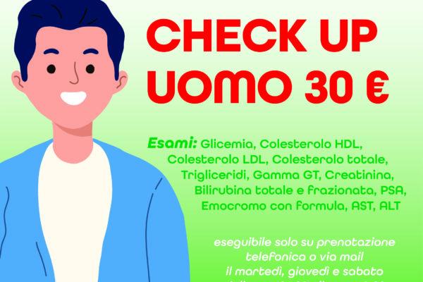 CHECK UP UOMO 30€